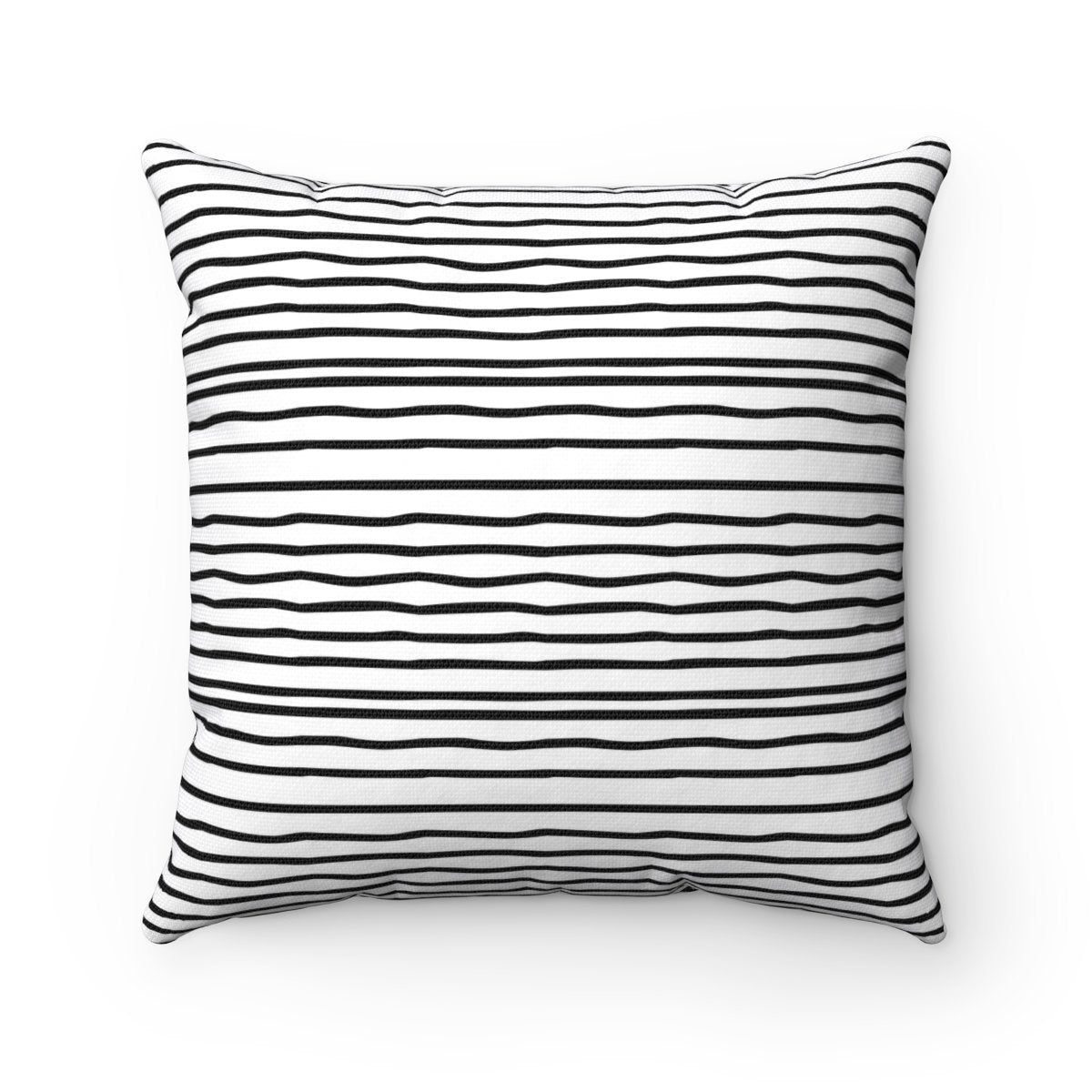 2 in 1 Black and Stripes and chevron decorative cushion cover-Home Decor - Decorative Accents - Pillows & Throws - Decorative Pillows-Maison d'Elite-16x16-Très Elite