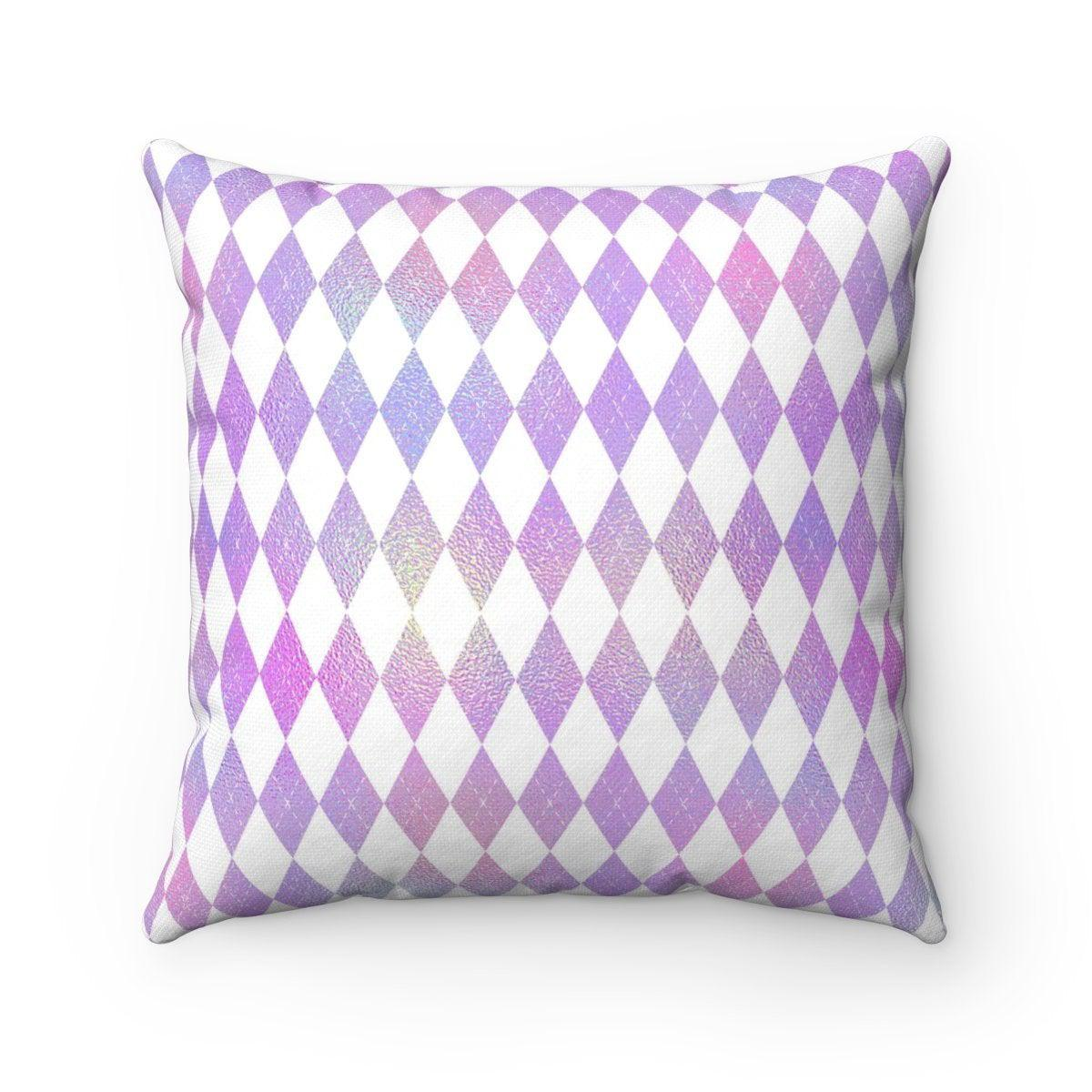 2 in 1 Hologram chevron and striped geometric decorative cushion cover-Home Decor - Decorative Accents - Pillows & Throws - Decorative Pillows-Maison d'Elite-14x14-Très Elite