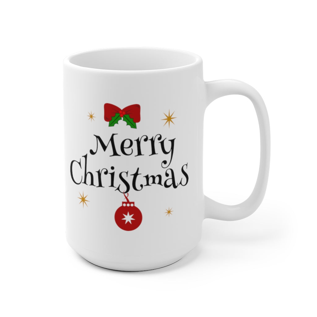 Merry Christmas Holidays winter ceramic mug