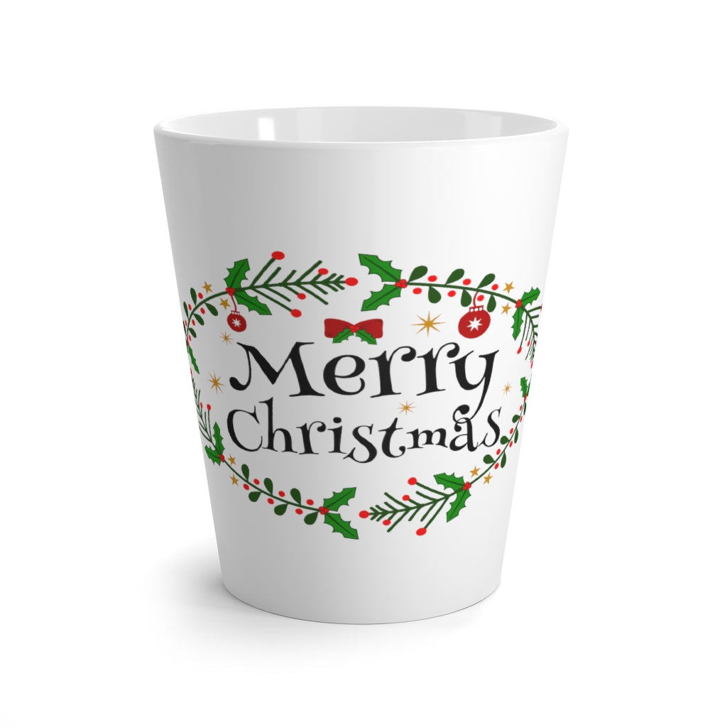 Holiday Latte ceramic mug