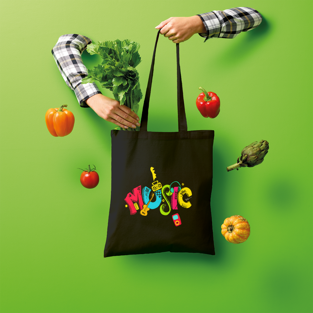 Music life Shopper Tote Bag