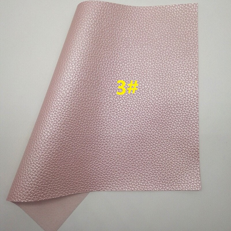PINK Glitter Fabric, Leopard Suede Faux Fabric, Synthetic Leather Sheets, Velvet Fabric For Bow A4 21x29CM Twinkling Ming XM799