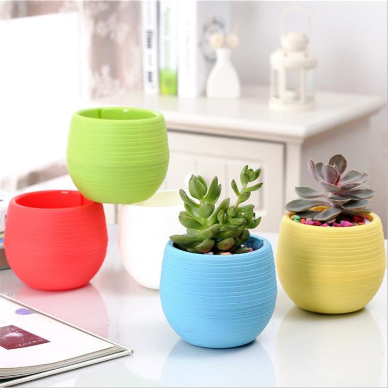 Colourful plastic breathable Flowerpot Planter