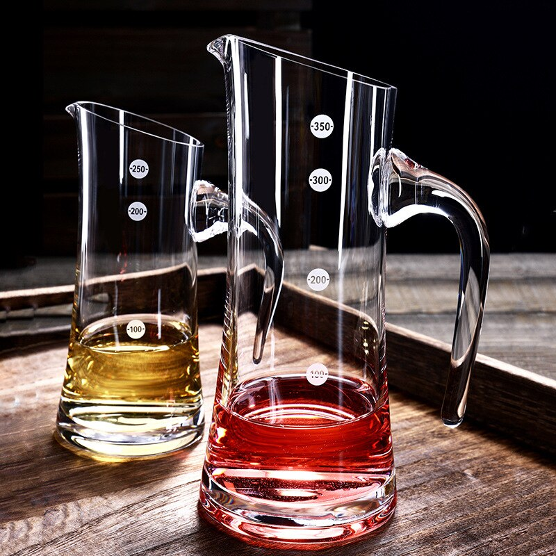 Crystal Clear Glass Wine Decanters