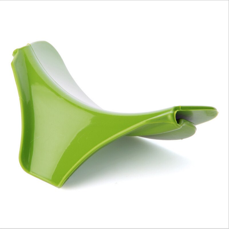Anti-spill Silicone Slip-on Funnel for Pots
