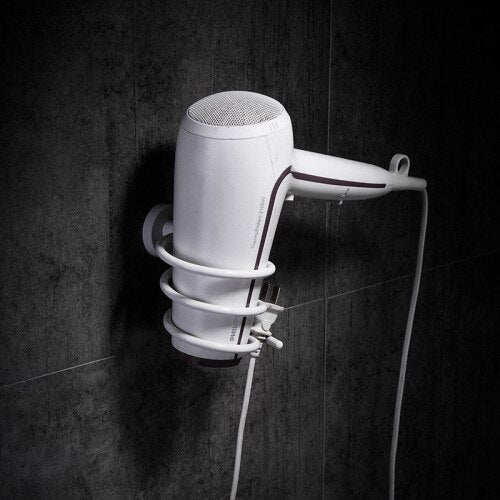 Nordic Space Aluminum Bathroom Hardware Hair dryer rack