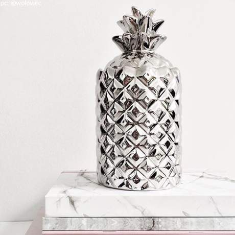 Silver Pineapple in White Tea & Mint