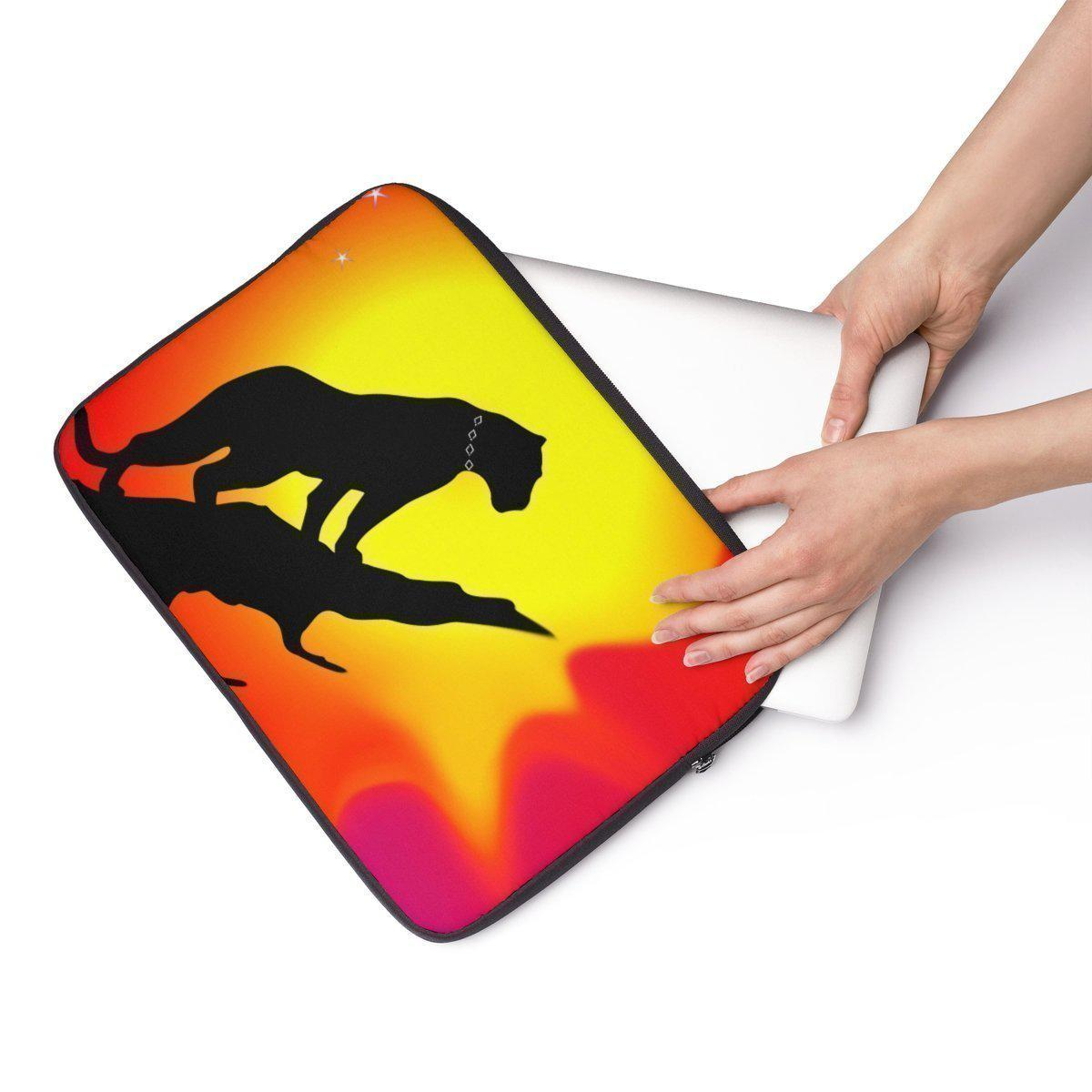 "African | Safari | landscape Laptop Sleeve-Tech - Accessories - Laptop Sleeves-Maison d'Elite-13""-Très Elite"