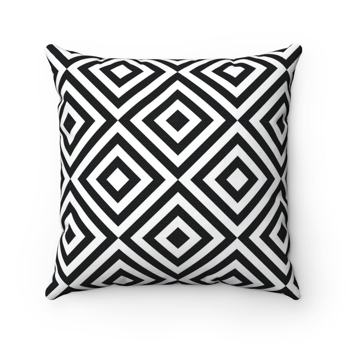 Black and White abstract decorative cushion cover-Home Decor - Decorative Accents - Pillows & Throws - Decorative Pillows-Maison d'Elite-Très Elite