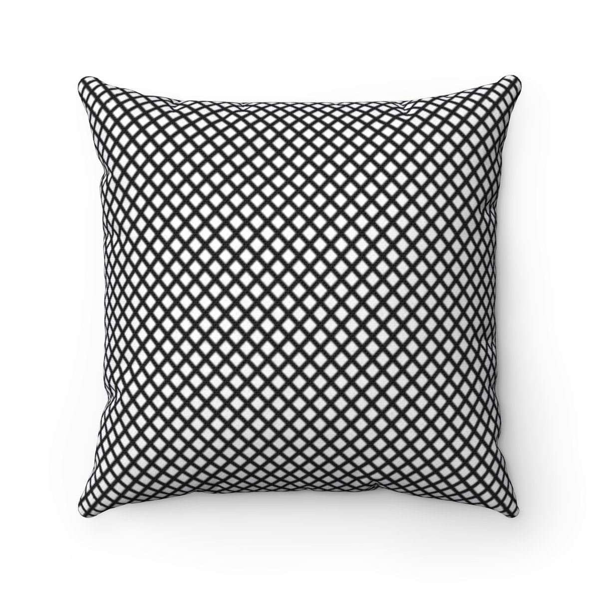 Black and White Fisheye decorative cushion cover-Home Decor - Decorative Accents - Pillows & Throws - Decorative Pillows-Maison d'Elite-Très Elite