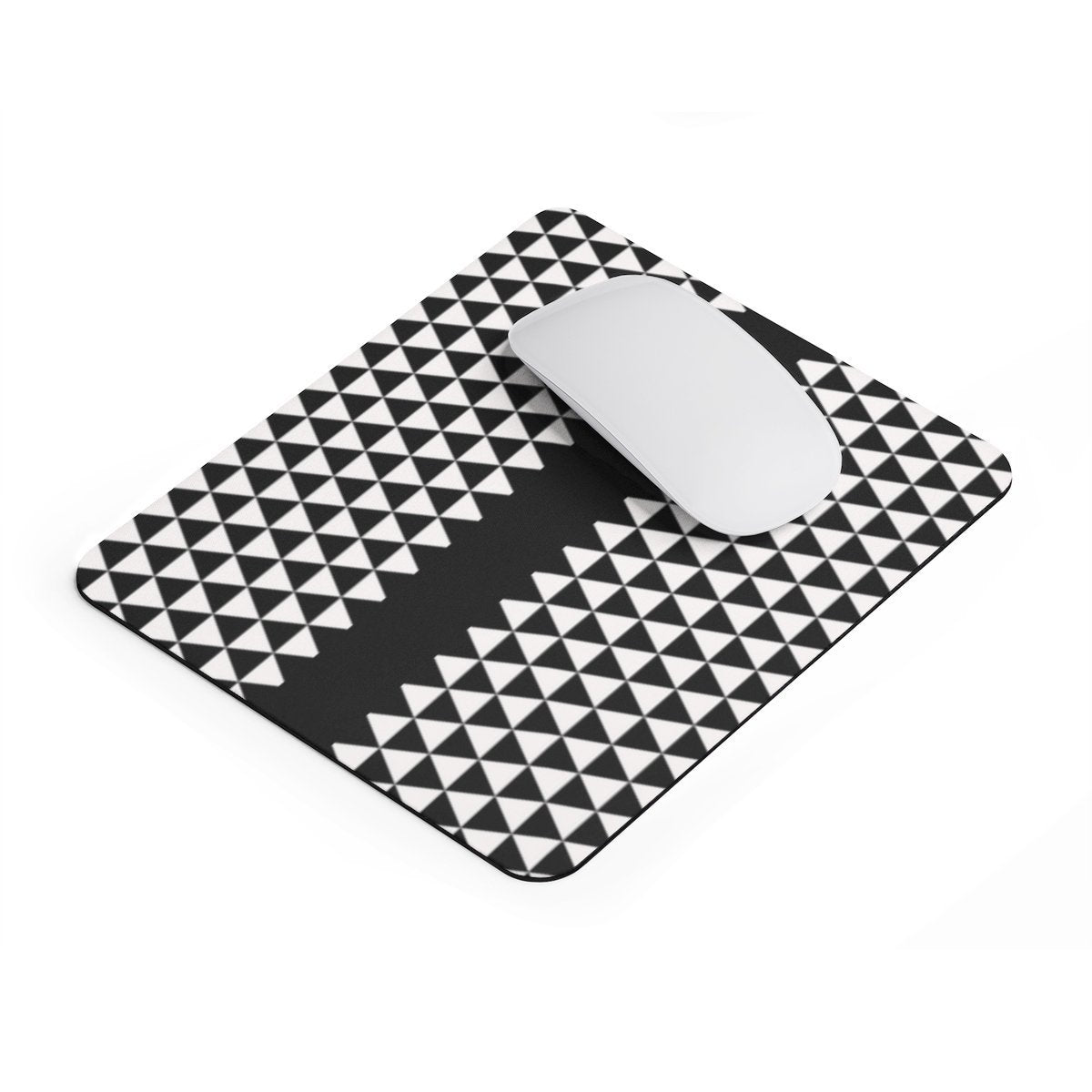 B/W rectangular Mouse pad-Home Decor-Maison d'Elite-Rectangle-Très Elite