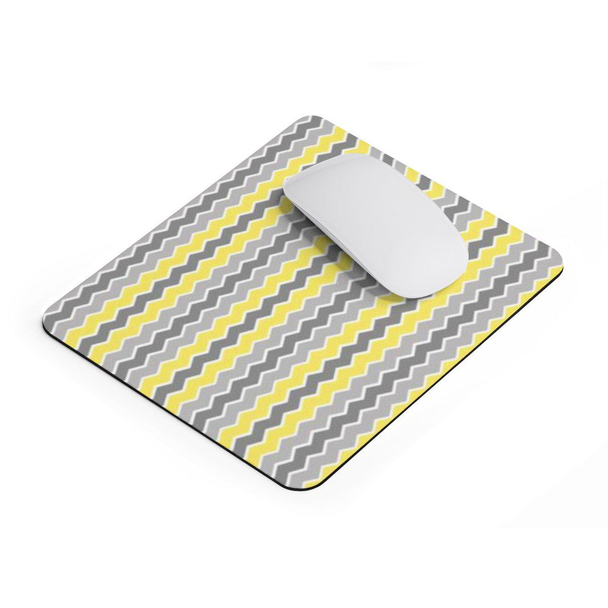 Chevron rectangular Mouse pad-Home Decor-Printify-Rectangle-Très Elite
