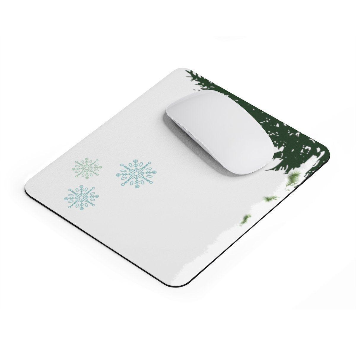 Christmas rectangular Mouse pad-Home Decor-Printify-Rectangle-Très Elite