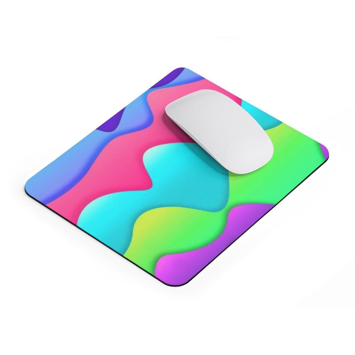 Colourful rectangular Mouse pad-Home Decor-Printify-Rectangle-Très Elite