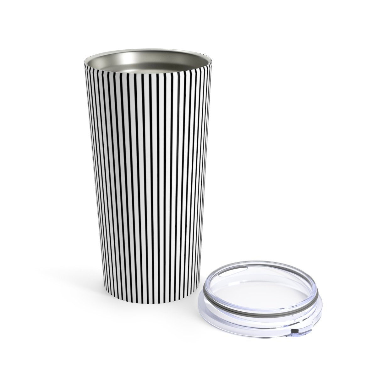 Contemporary striped - 20oz Stainless steel travel tumbler-Mug-Printify-20oz-Très Elite