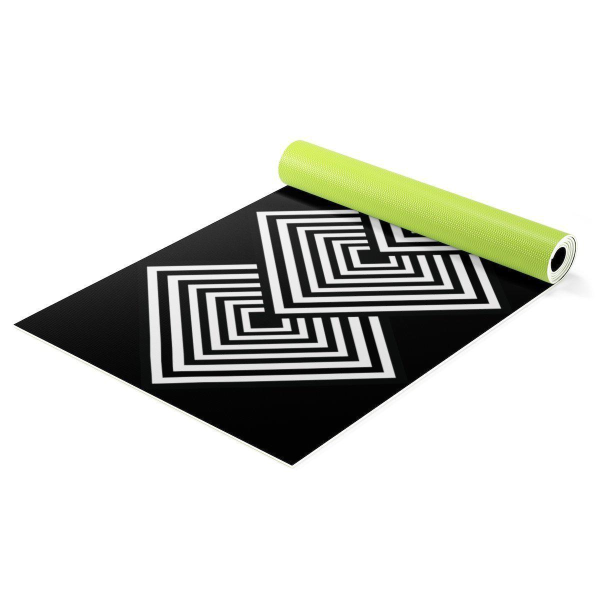 Contemporary Yoga mat-Home - Gym Equipment - Yoga mats-Maison d'Elite-One size-Très Elite