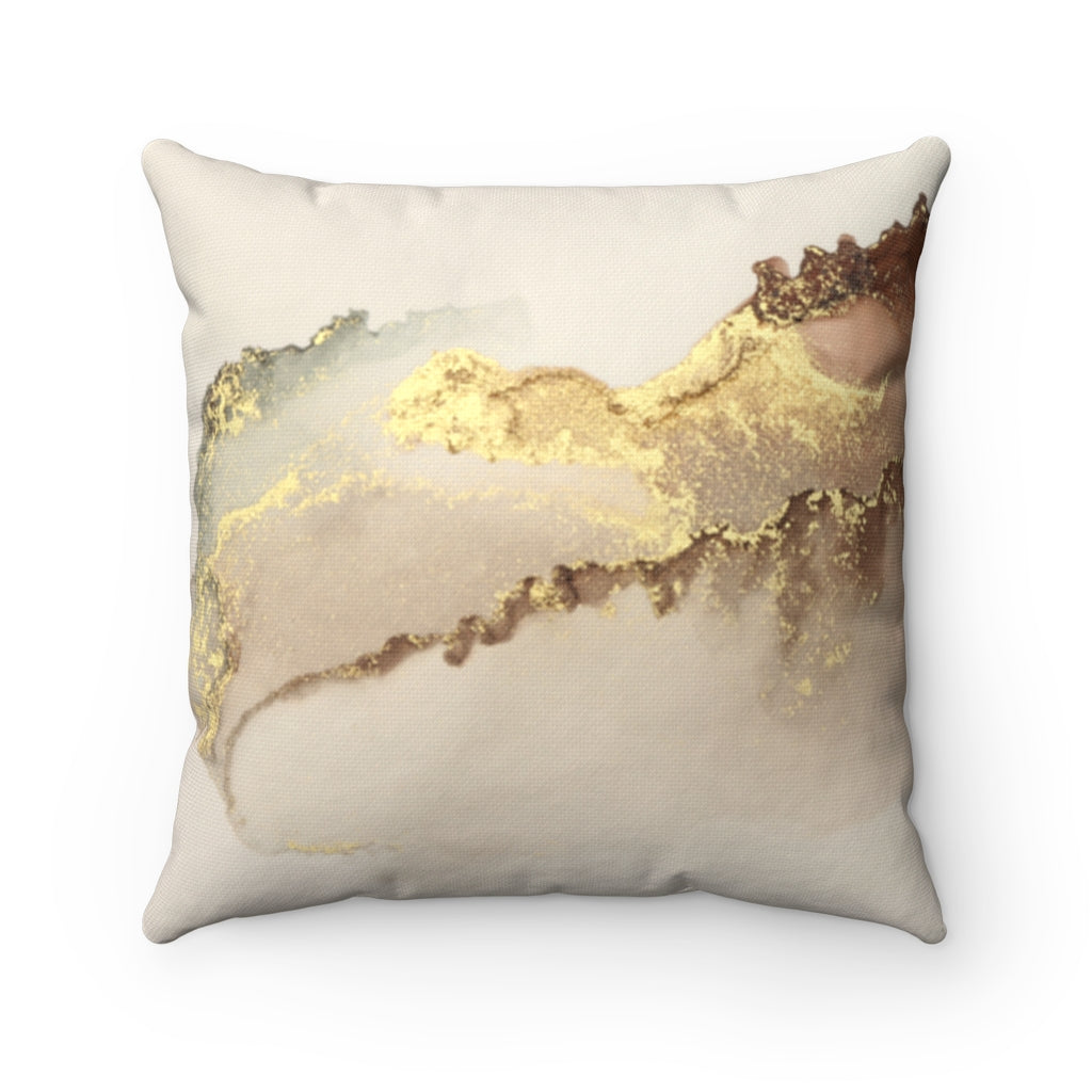 Gold texture Decorative Cushion Cover