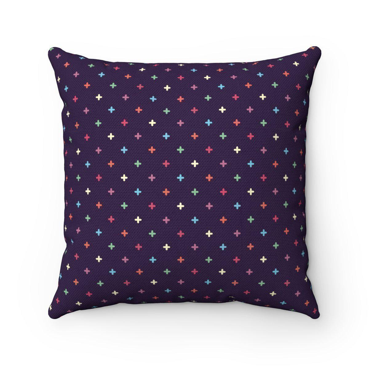 Double sided modern decorative cushion cover-Home Decor - Decorative Accents - Pillows & Throws - Decorative Pillows-Maison d'Elite-14x14-Très Elite