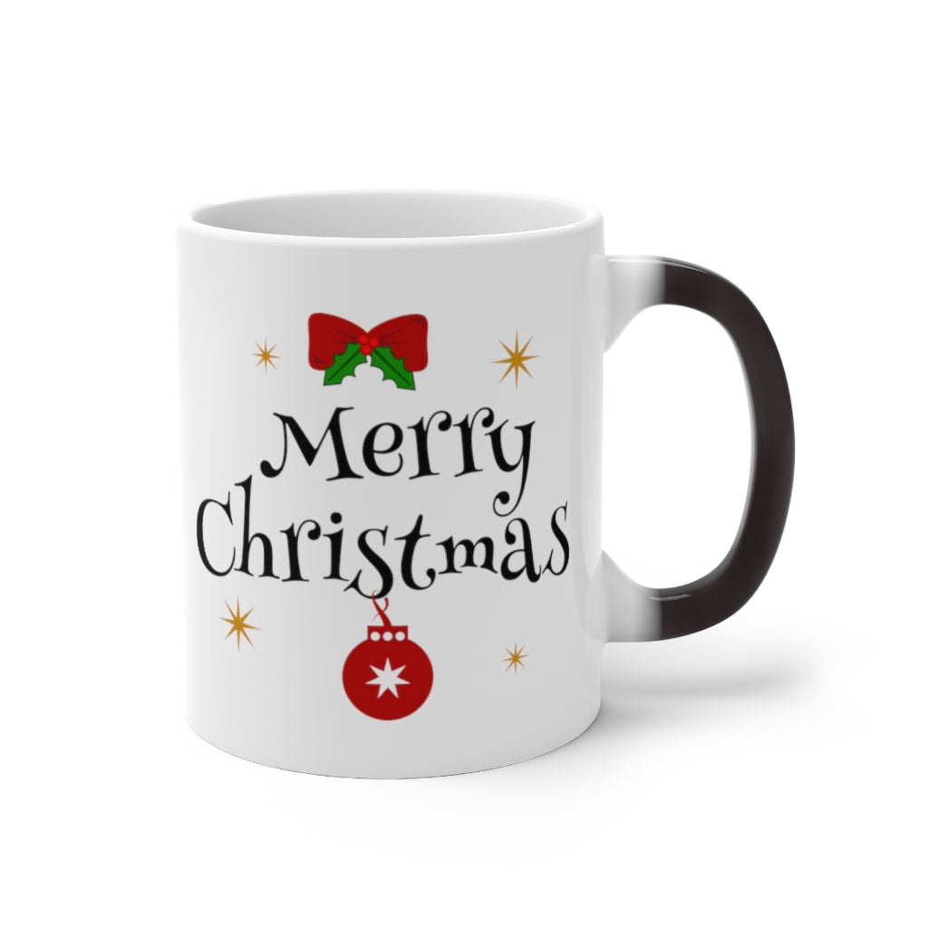 Holiday Novelty Heat Sensitive Colour Changing Mug