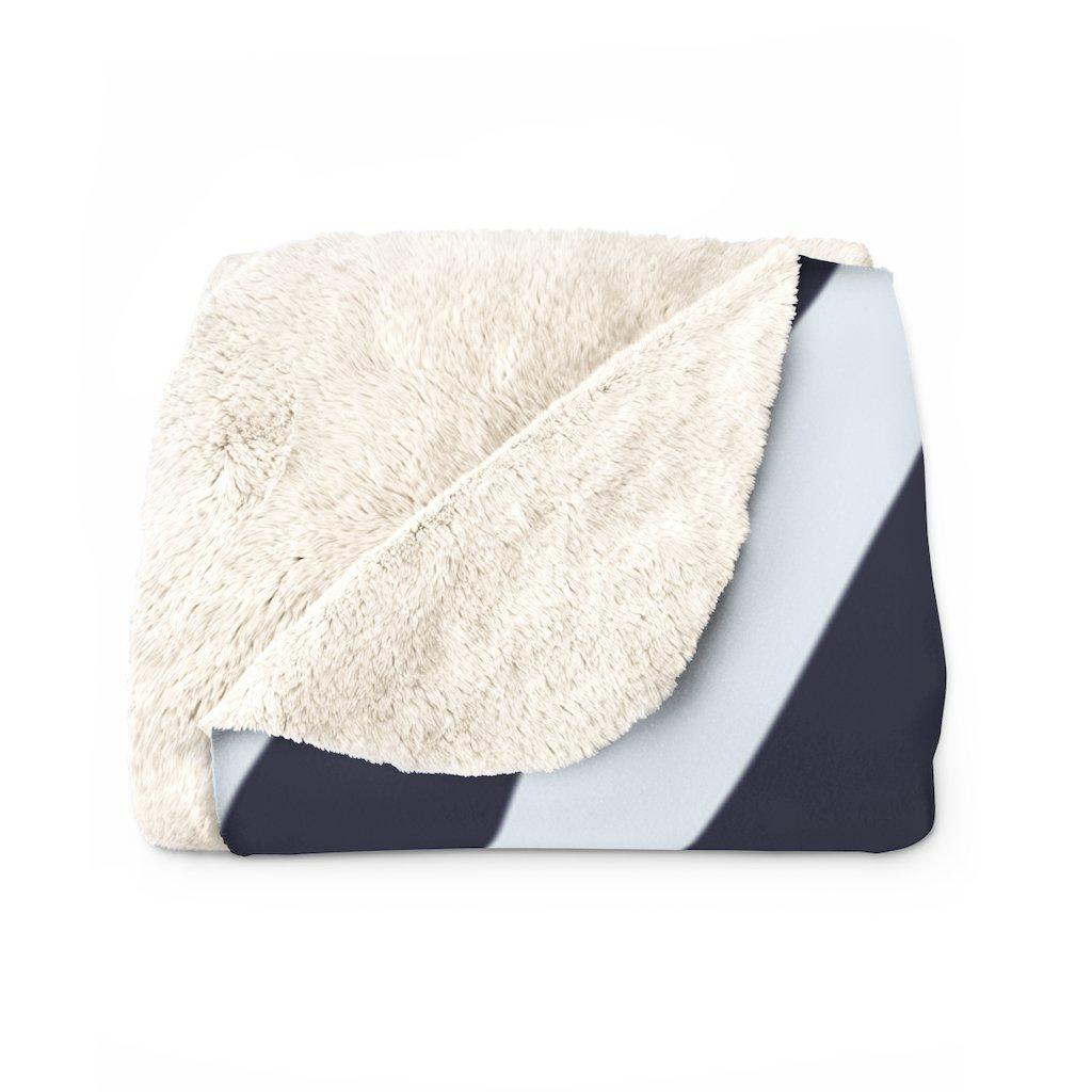 Zebra Sherpa Fleece Blanket