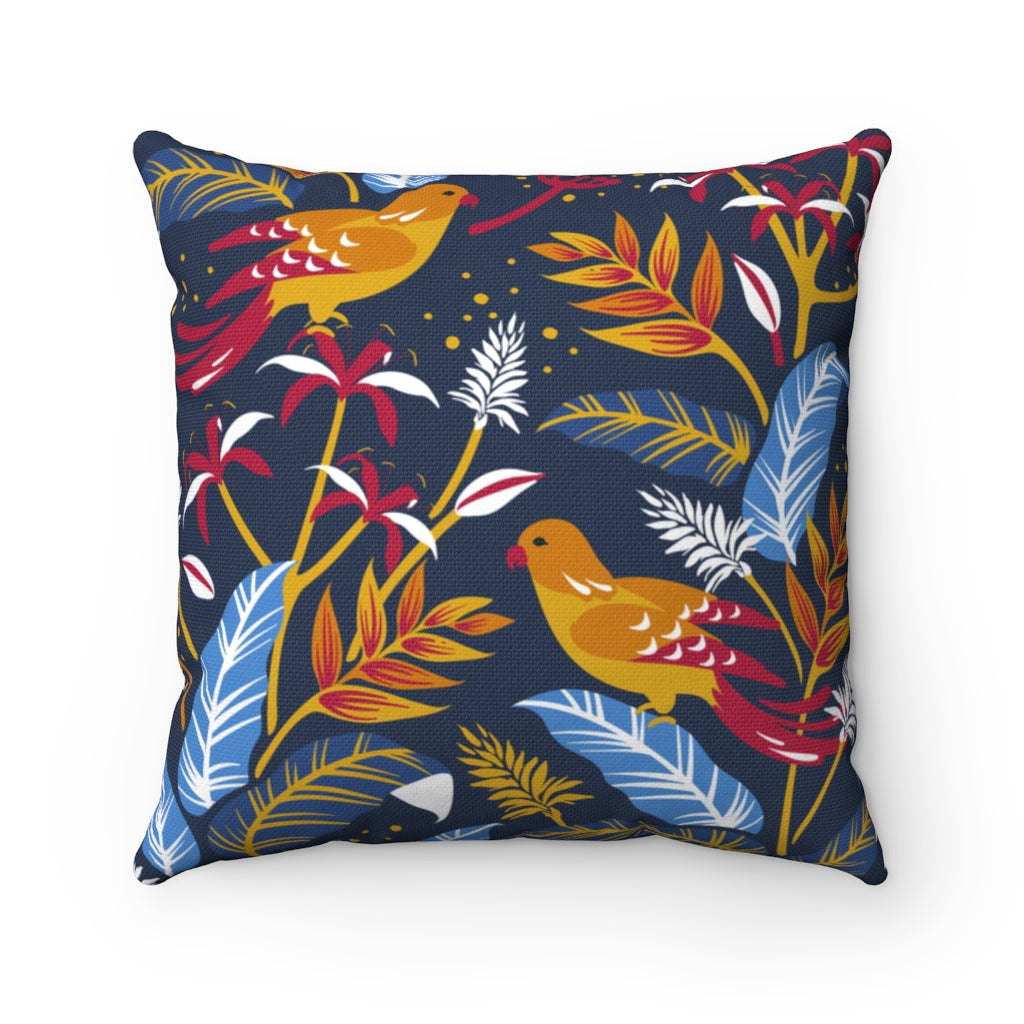 Floral Decorative Cushion Cover