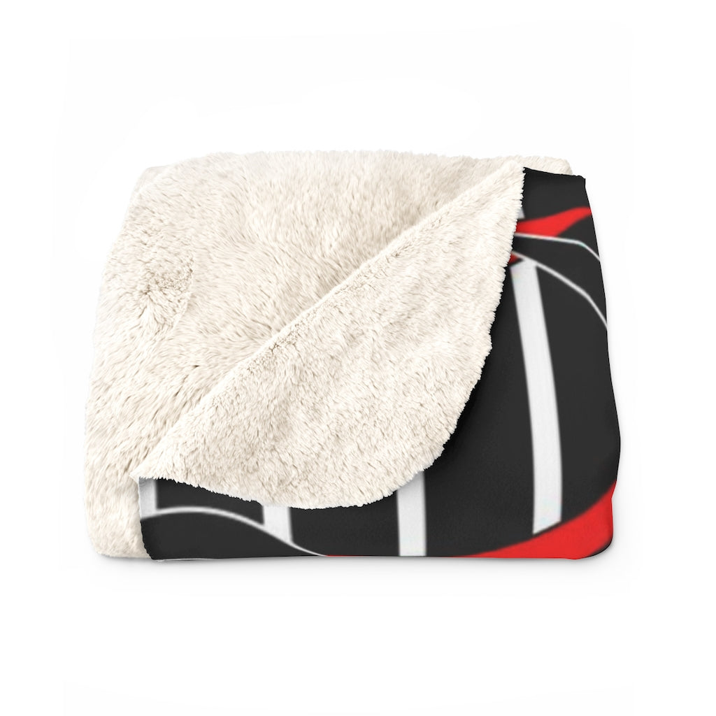 Modern Sherpa Fleece Blanket