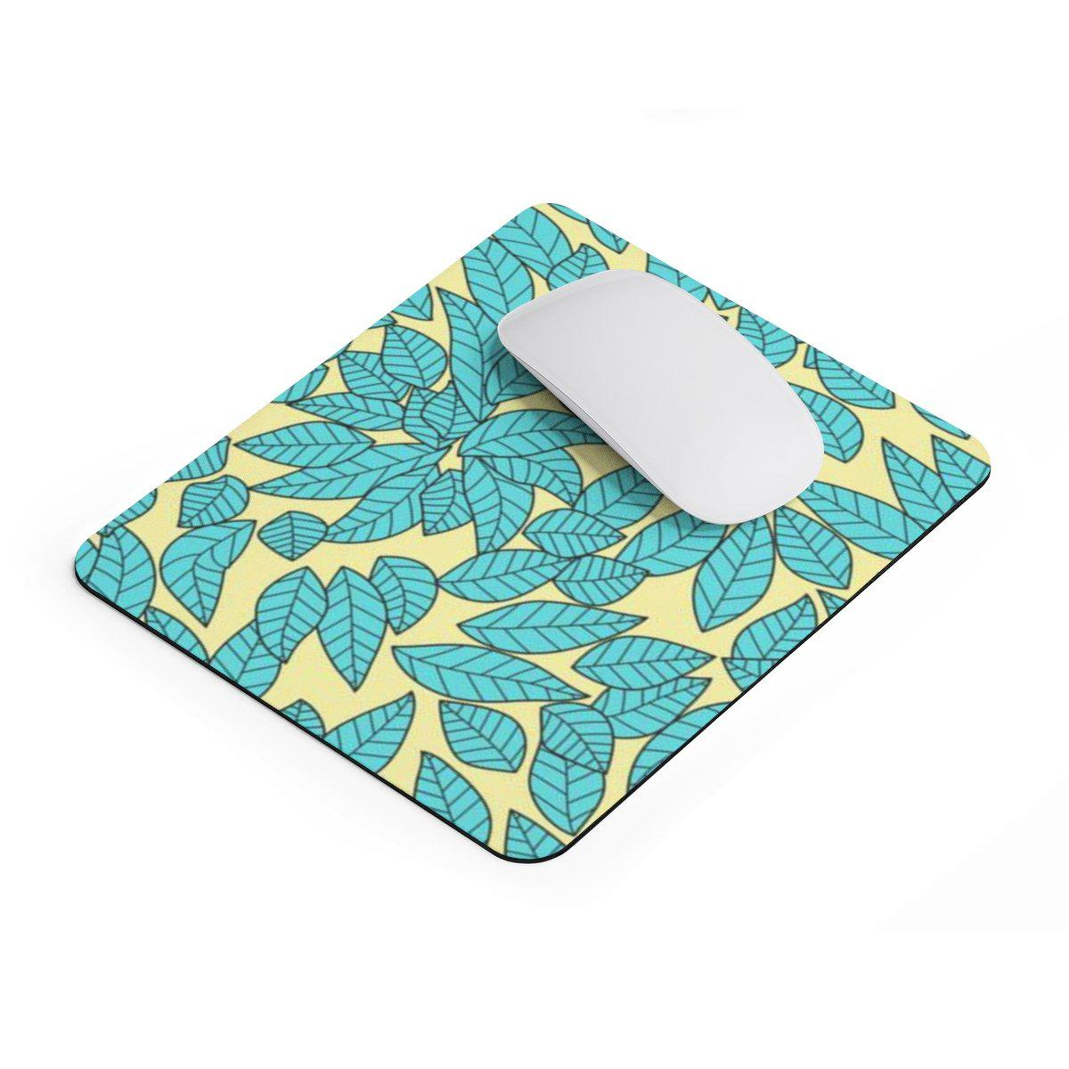 Floral rectangular Mouse pad-Home Decor-Printify-Rectangle-Très Elite