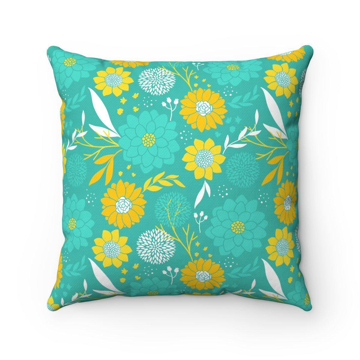 Garden Double sided modern decorative cushion cover-Home Decor - Decorative Accents - Pillows & Throws - Decorative Pillows-Maison d'Elite-Très Elite