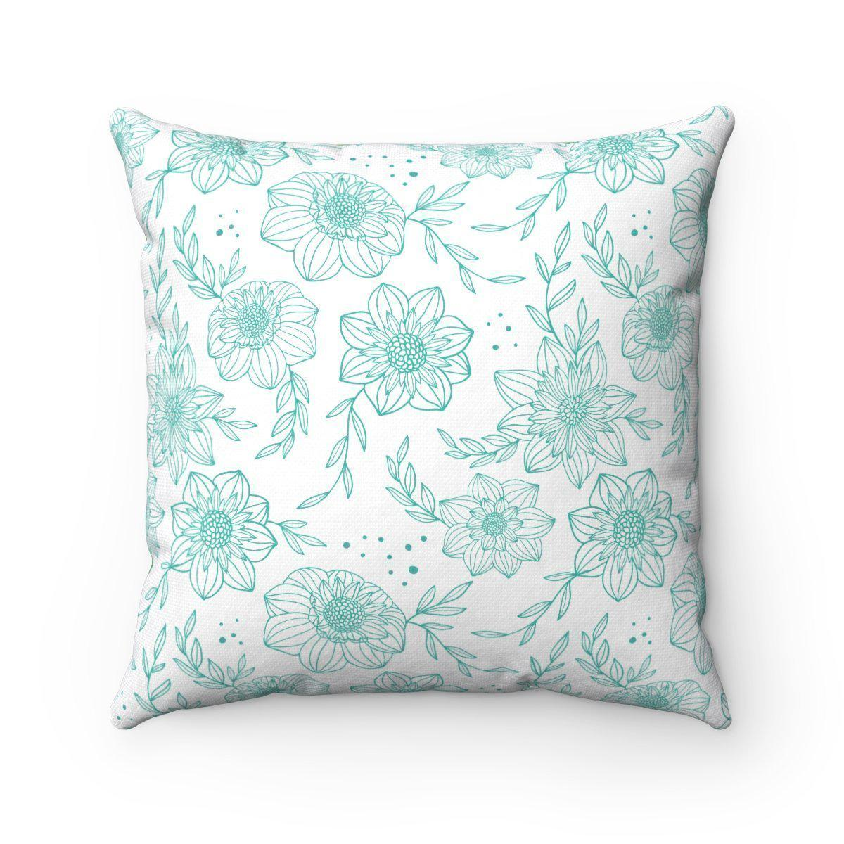 Garden Double sided modern decorative cushion cover-Home Decor - Decorative Accents - Pillows & Throws - Decorative Pillows-Maison d'Elite-14x14-Très Elite