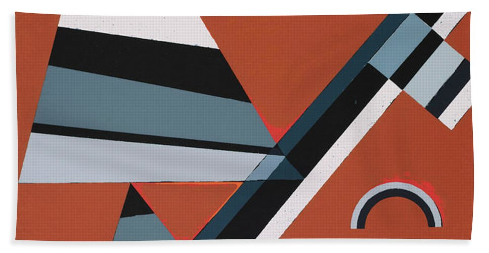 Gris by Wassily Kandinsky - Beach Towel