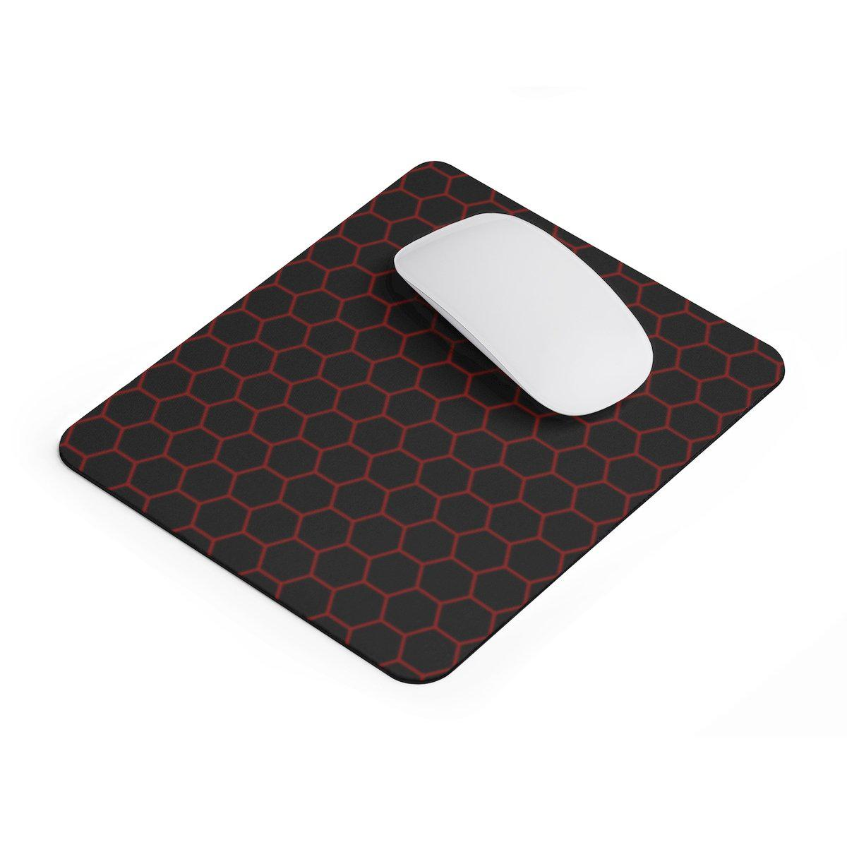 Hexagon rectangular Mouse pad-Home Decor-Printify-Rectangle-Très Elite
