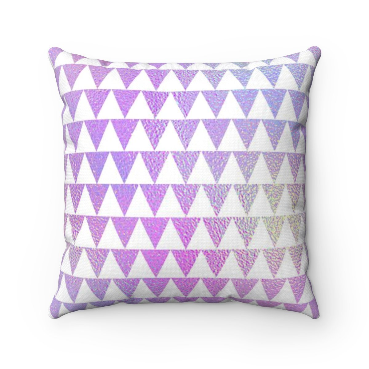 Hologram Triangle geometric decorative cushion cover-Home Decor - Decorative Accents - Pillows & Throws - Decorative Pillows-Maison d'Elite-14x14-Très Elite