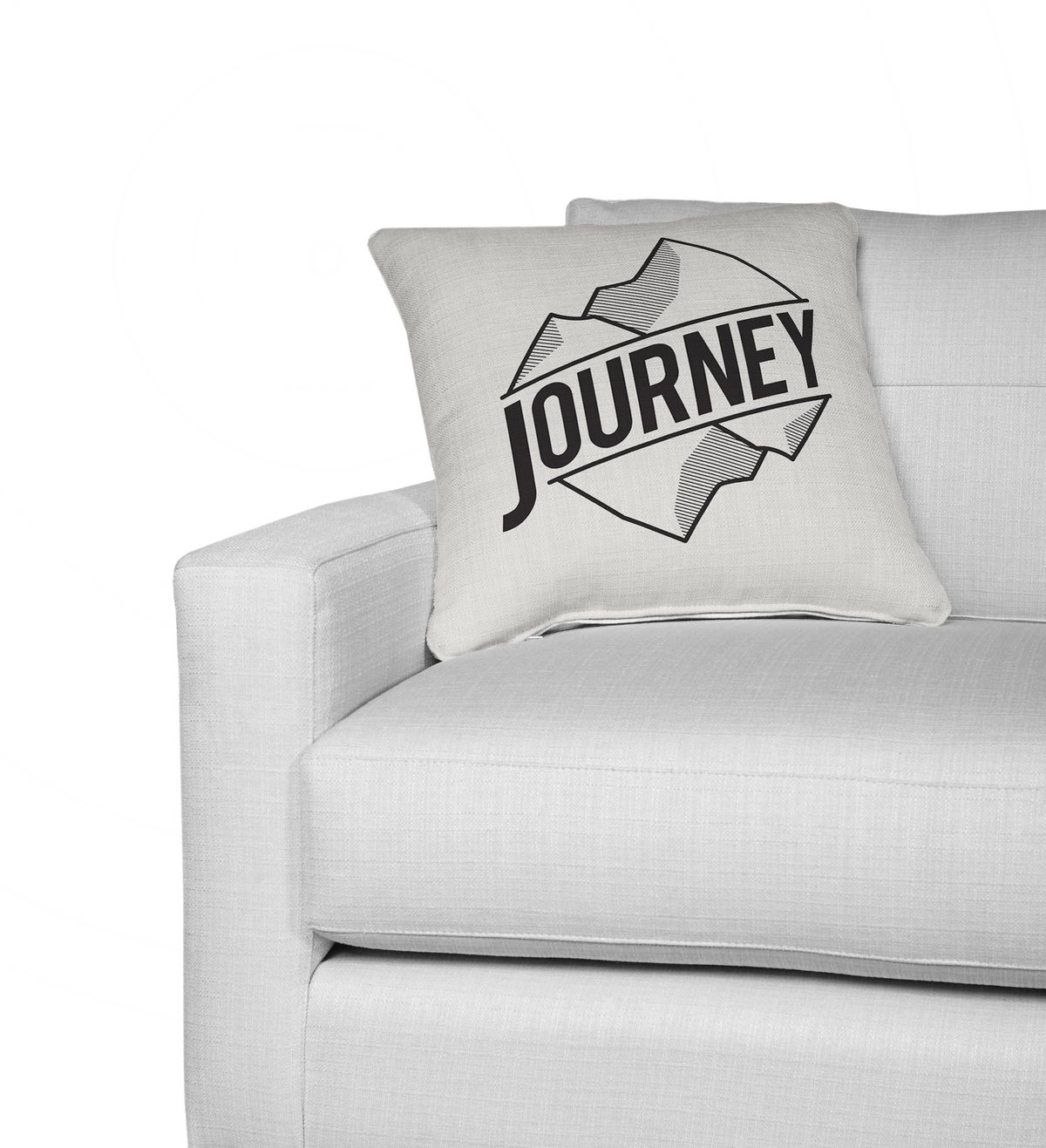 Journey 2 in 1 Double sided contemporary decorative cushion cover-Home Decor - Decorative Accents - Pillows & Throws - Decorative Pillows-Maison d'Elite-14x14-Très Elite