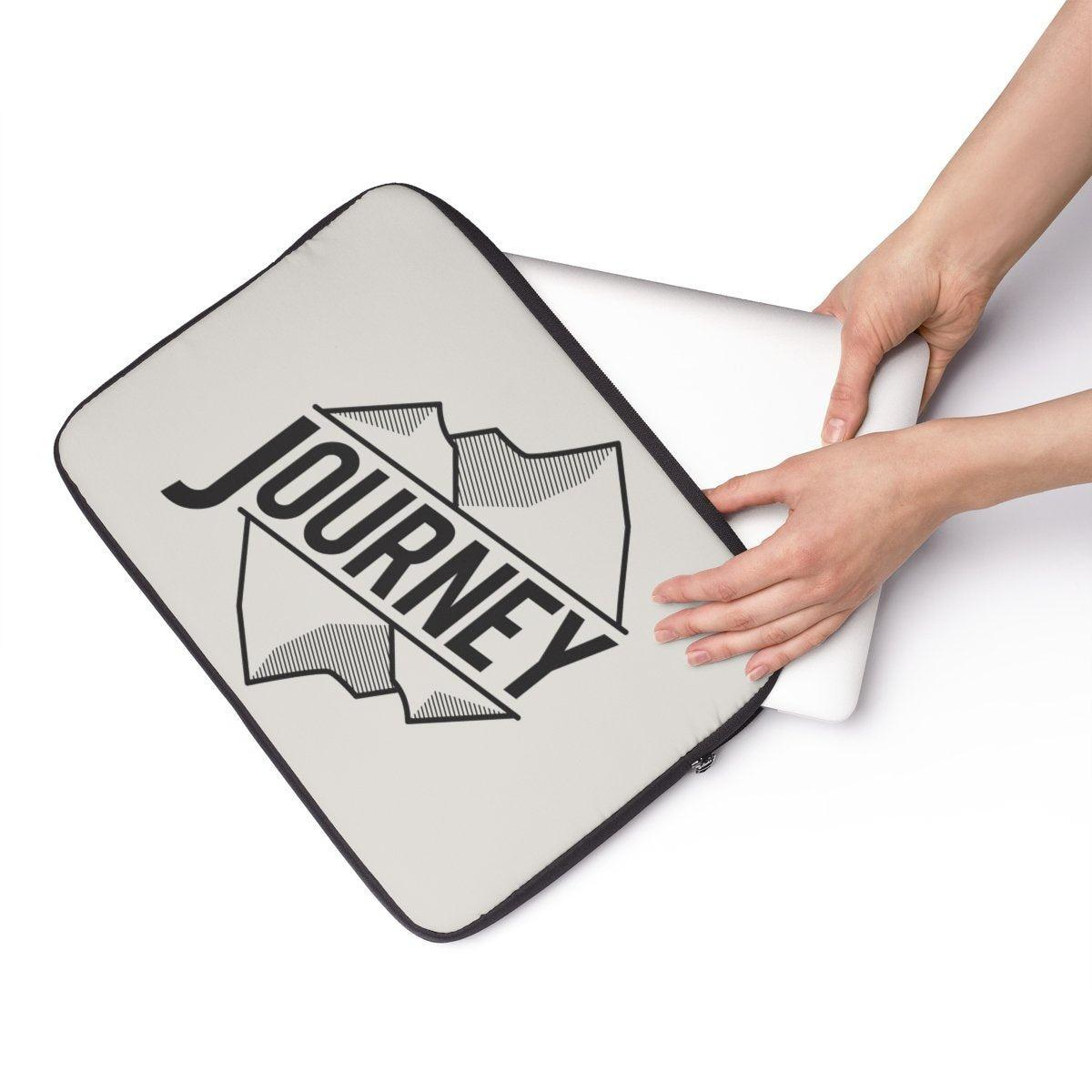 "Journey travel Laptop Sleeve-Tech - Accessories - Laptop Sleeves-Printify-13""-Très Elite"