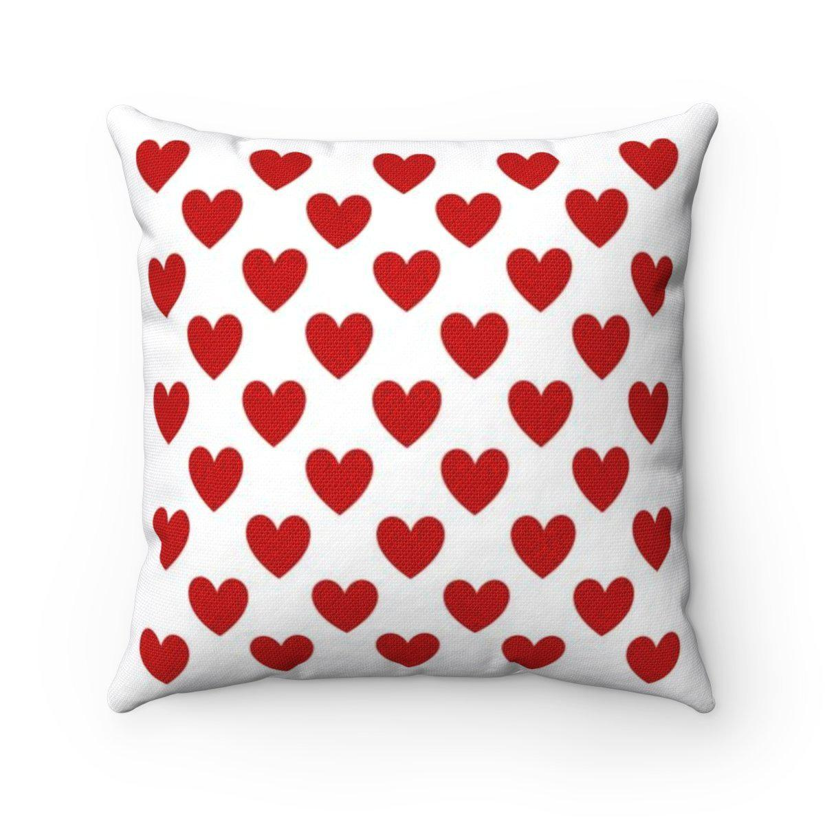 Love | Romantic | Valentine Hearts decorative cushion cover-Home Decor - Decorative Accents - Pillows & Throws - Decorative Pillows-Maison d'Elite-Très Elite