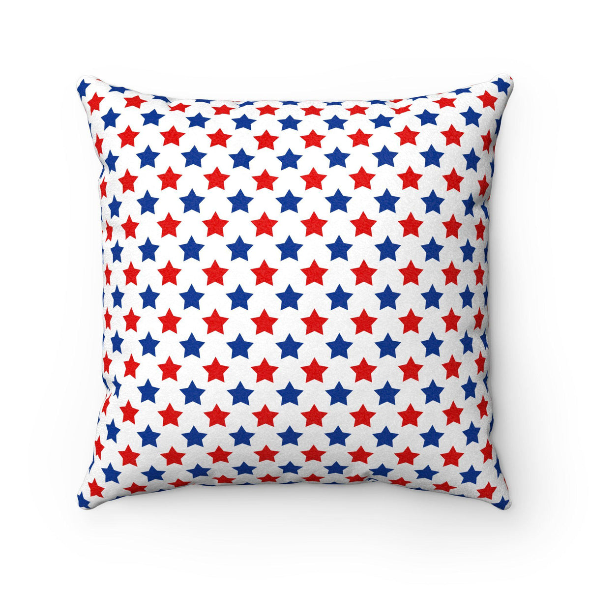 Maison d'Elite American stars decorative cushion-Home Decor - Decorative Accents - Pillows & Throws - Decorative Pillows-Maison d'Elite-Très Elite