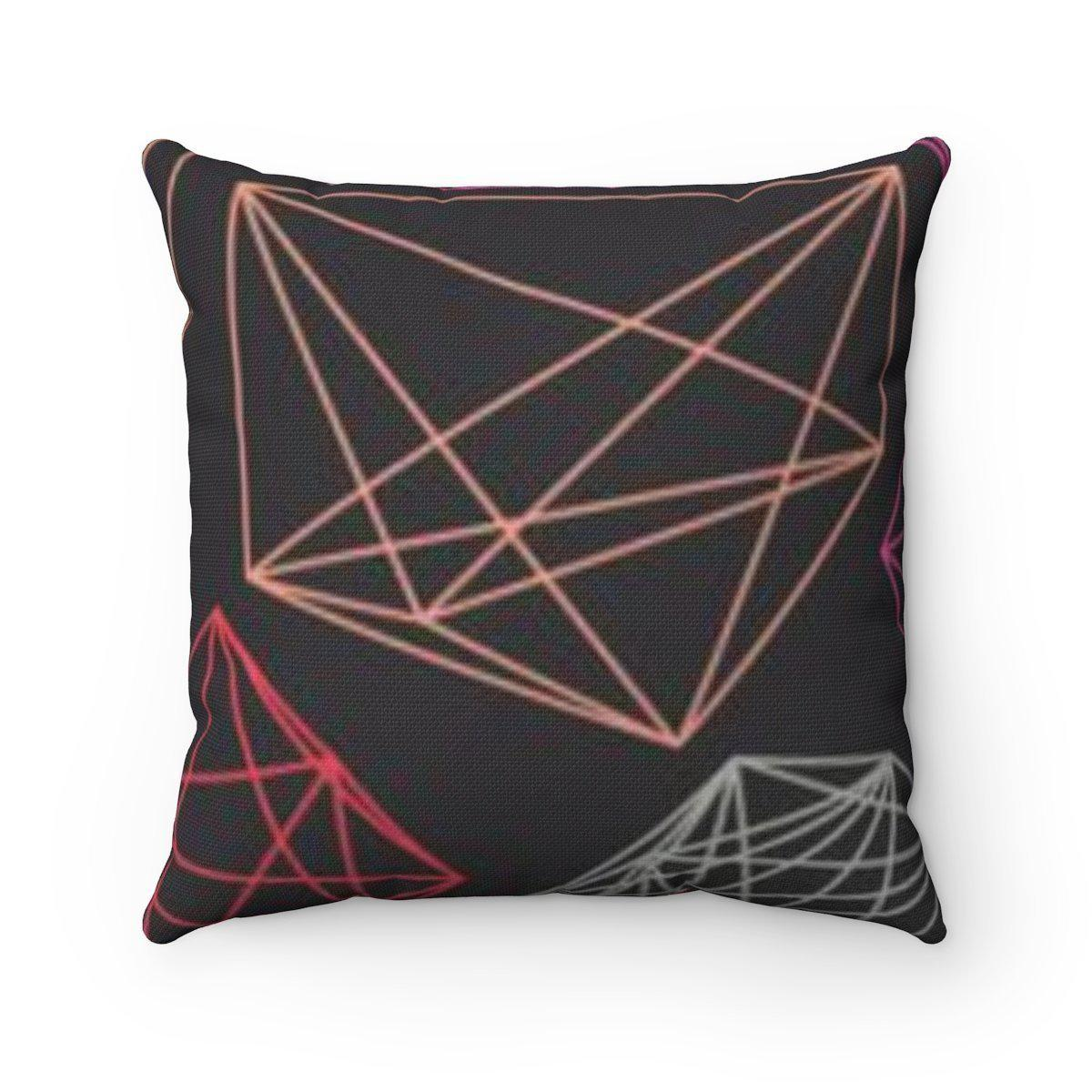 Maison d'Elite modern decorative cushion cover-Home Decor - Decorative Accents - Pillows & Throws - Decorative Pillows-Maison d'Elite-18x18-Très Elite