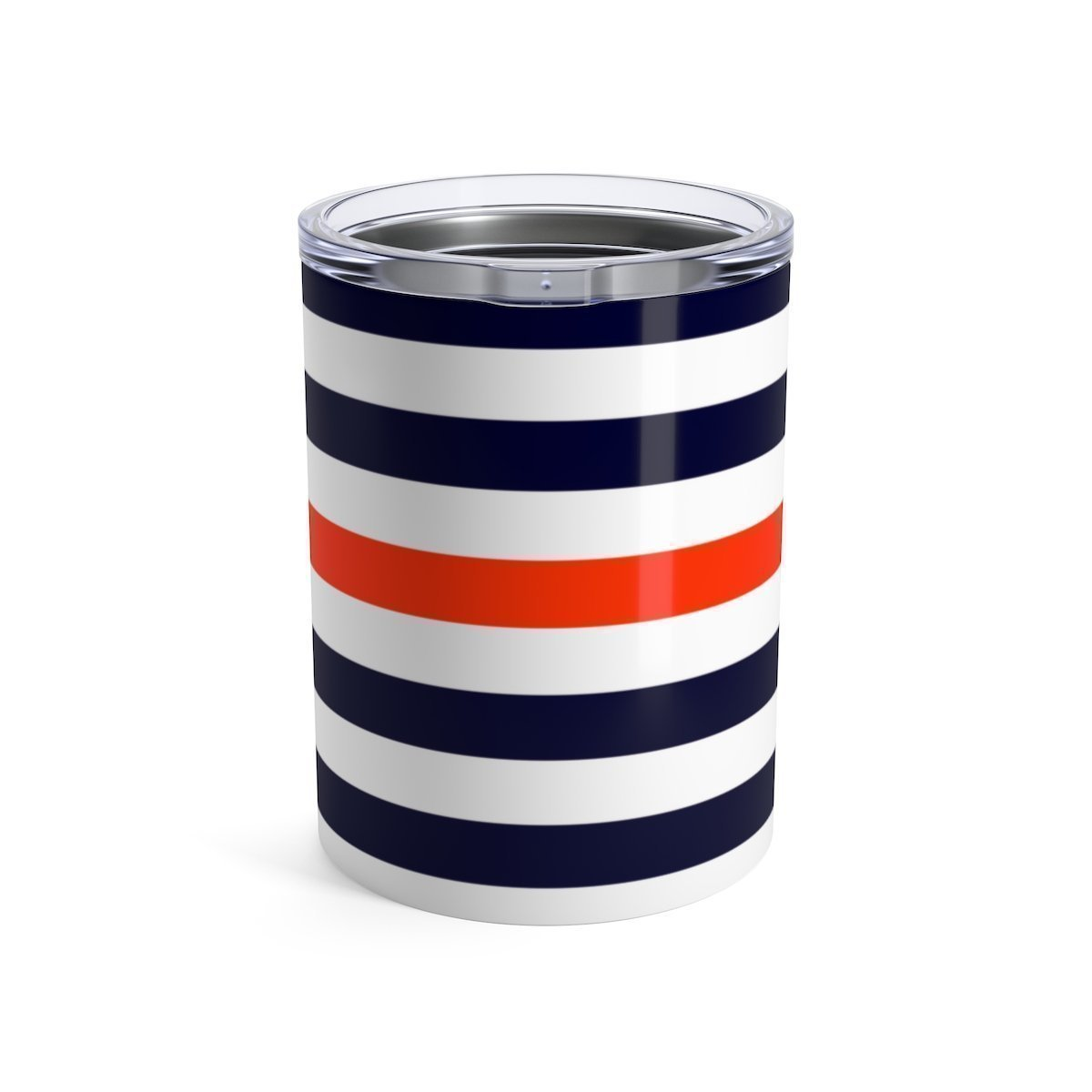 Maison d'Elite nautica striped stainless steel 10oz tumbler-Mug-Printify-10oz-Très Elite