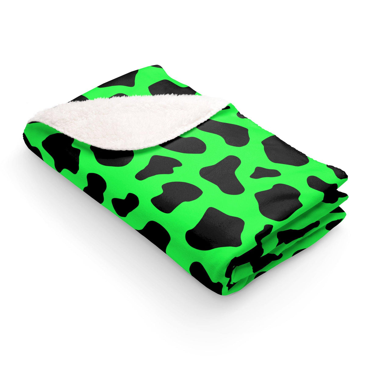 Maison d'Elite Sherpa Fleece Blanket-Home - Throws & Blankets-Maison d'Elite-50x60-Green-Fleece-Très Elite