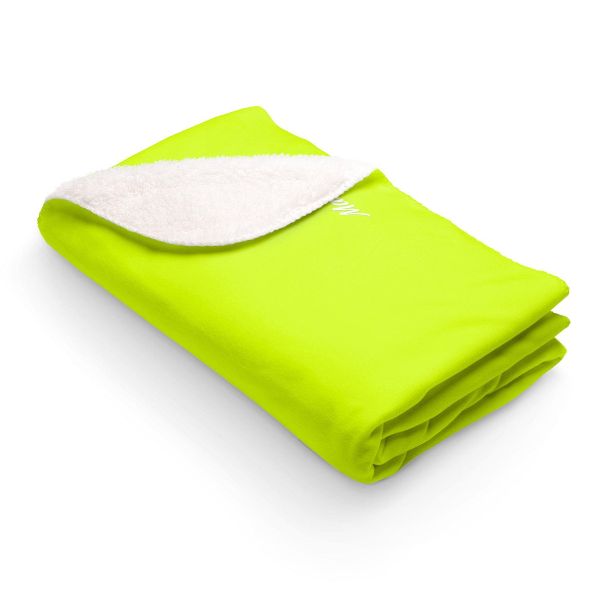 Maison d'Elite Sherpa Fleece Blanket-Home - Throws & Blankets-Maison d'Elite-50x60-YellowGreen-Fleece-Très Elite