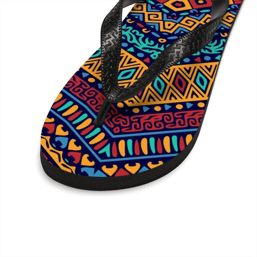 Maison d'Elite tribal Flip-Flops