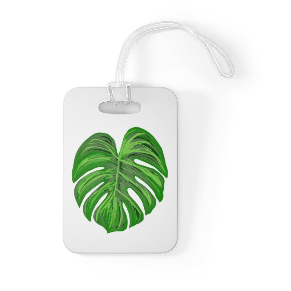 Maison d'Elite Tropical Luggage Tag-Luggage & Bags › Travel Accessories › Luggage Tags-Maison d'Elite-One Size-Très Elite
