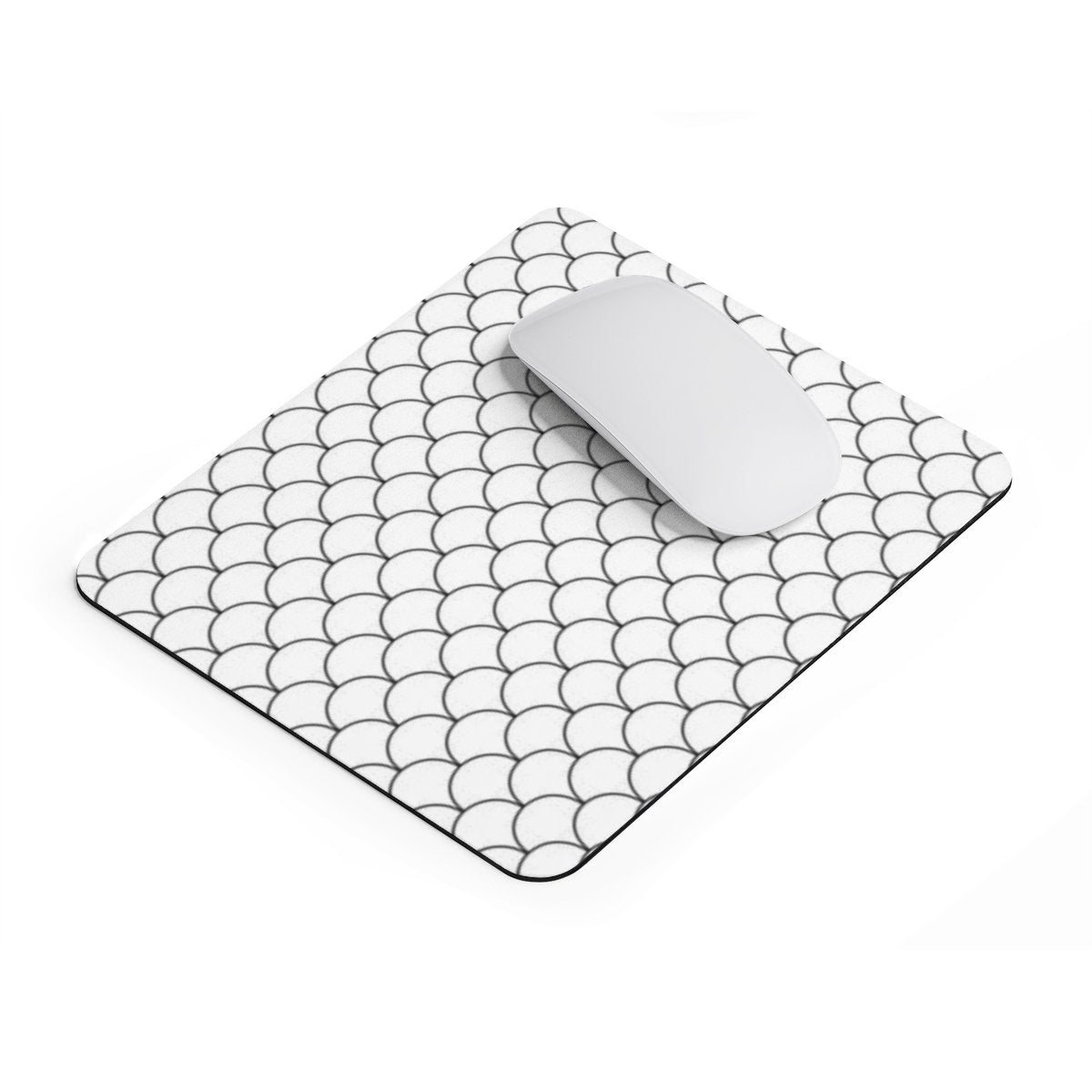 Mermaid scales rectangular Mouse pad-Home Decor-Printify-Rectangle-Très Elite