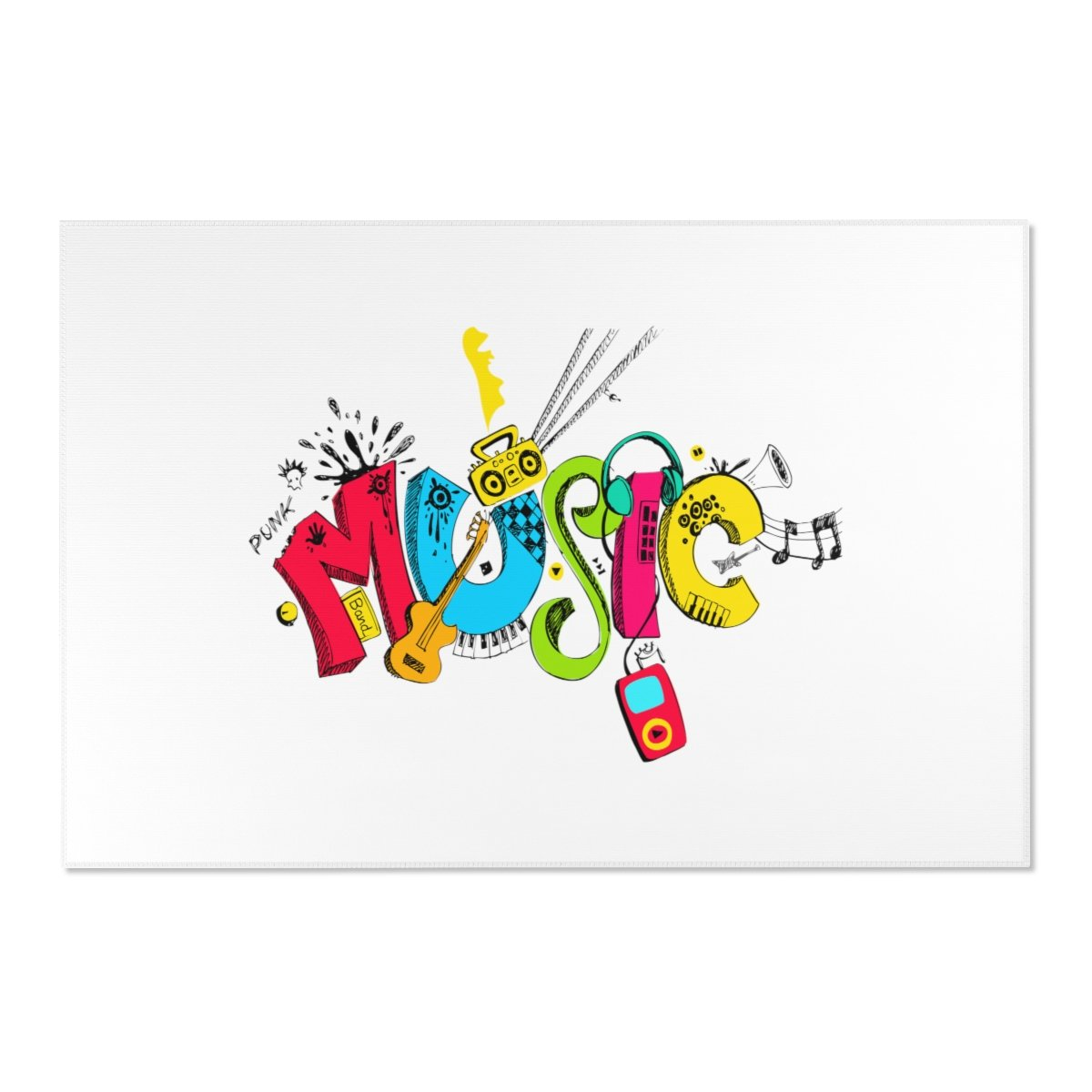 Music lover Area Rugs-Home Decor-Printify-Très Elite