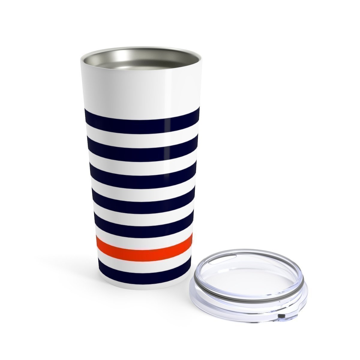 Nautica striped - 20oz Stainless steel travel tumbler-Mug-Printify-20oz-Très Elite