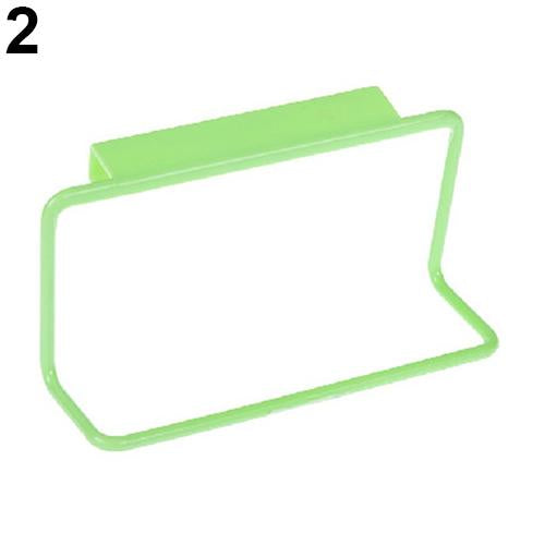 Over Door Tea Towel Rack Bar Hanging Holder Rail Organizer Bathroom Kitchen Hanger-Others-Très Elite-Green-Très Elite