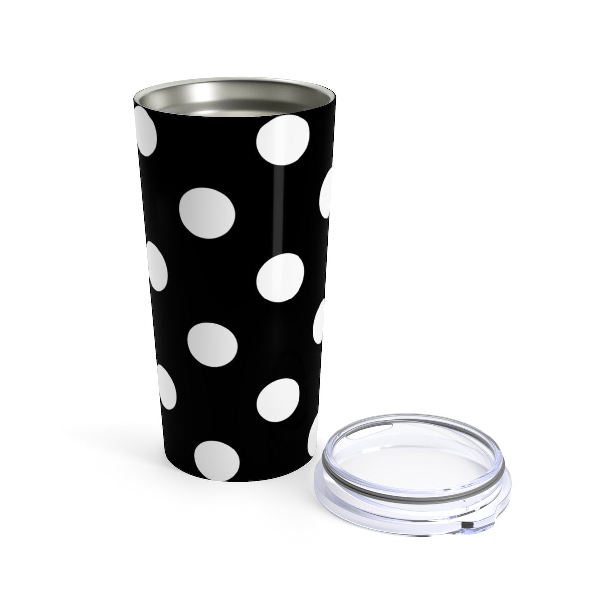 Polka dot 20oz Stainless steel travel tumbler-Mug-Printify-20oz-Très Elite