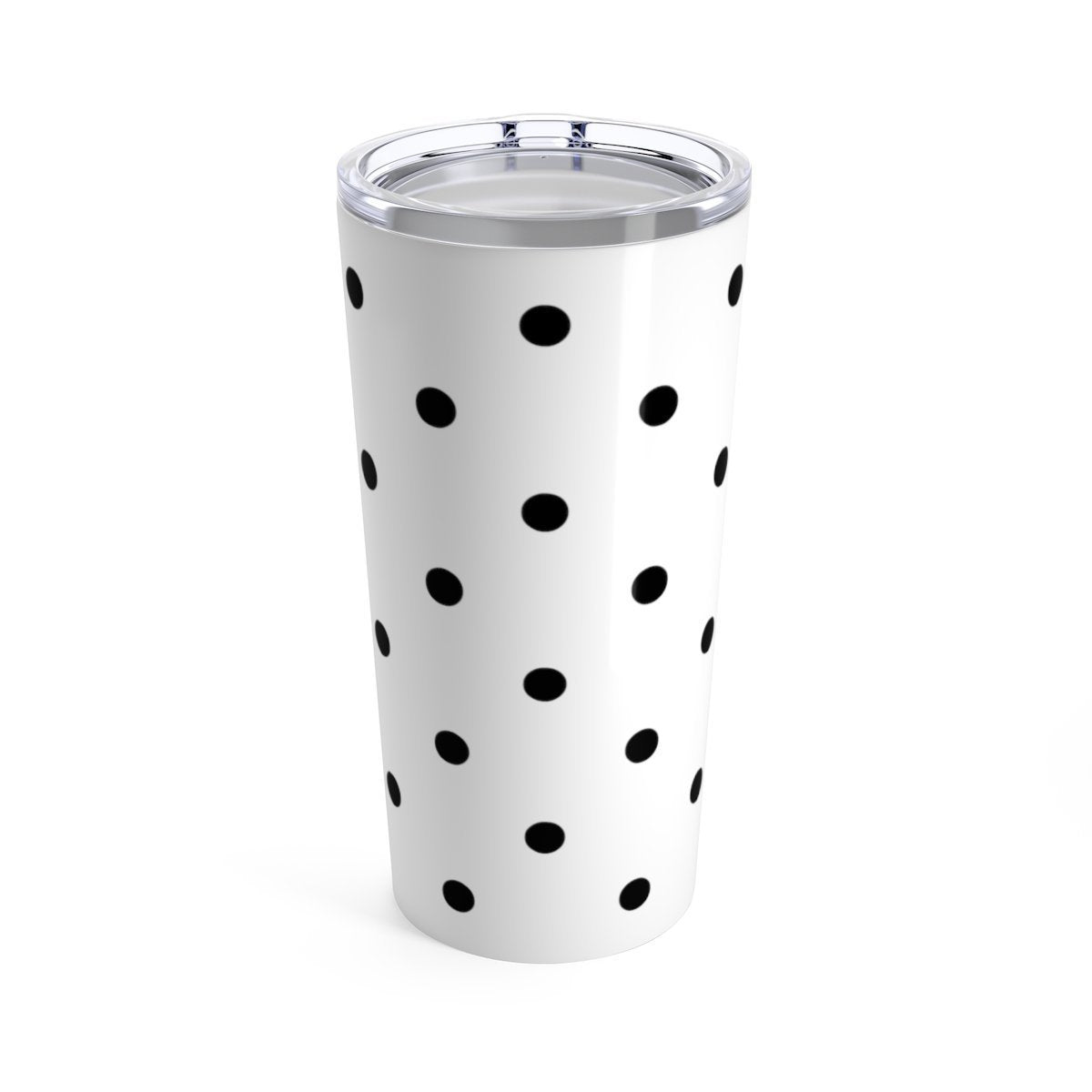 Polka dots 20oz Stainless steel travel tumbler-Mug-Printify-20oz-Très Elite