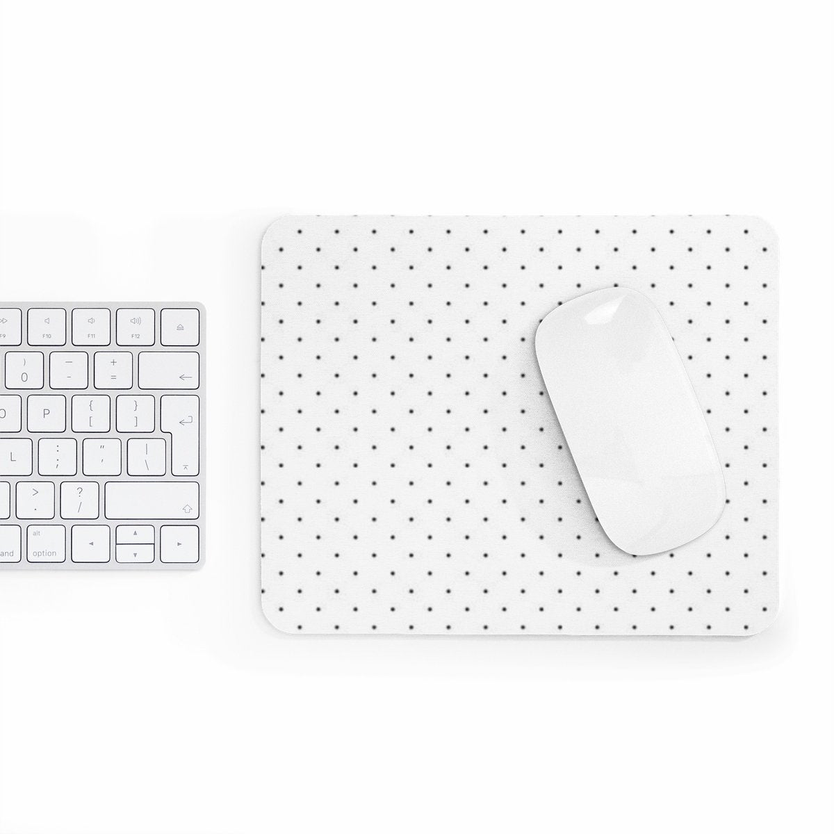 Polka dots rectangular Mouse pad-Home Decor-Printify-Rectangle-Très Elite