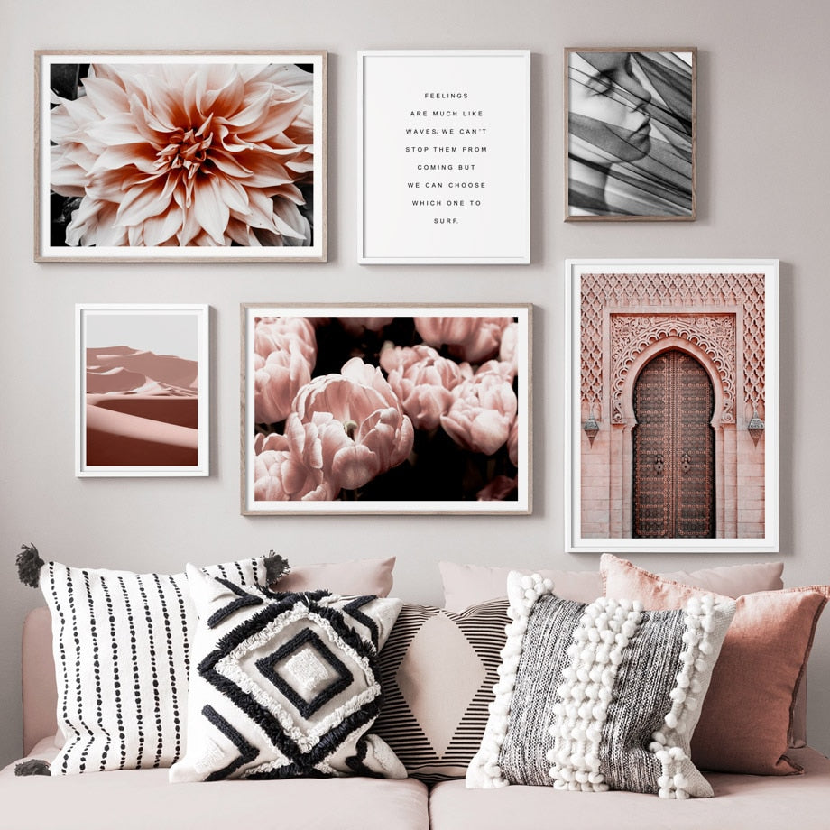 Morocco Nordic Posters And Prints Wall Art Canvas